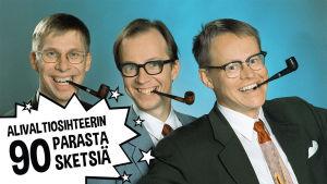 Alivaltiosihteerin valitsemat 90 parasta sketsiä radiotaipaleen varrelta (1991-2016) julkaistaan Yle Areenaan Ylen 90-vuotispäivänä 9.9.2016.
