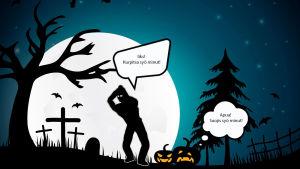Suojiksen kuplakuva - Halloween