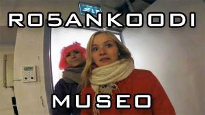 Rosan koodi museossa