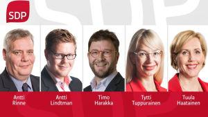 Ordförandekandidater för SDP