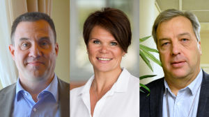 Fredrick von Schoultz, Pia Nurme och Hilding Mattsson