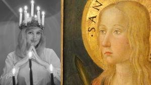 Lucia-neito ja Pyhä Lucia