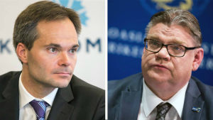 Kai Mykkänen och Timo Soini.