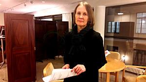 Pia Panhelainen, biträdande stadsdirektör med ansvar för social- och hälsovården i Helsingfors.