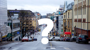 Stadsvy i Åbo.