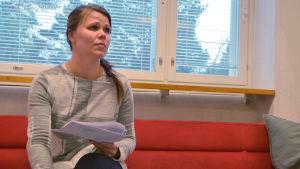 Sirpa Ahonens dotter går i årskurs 3 i Winellska skolan i Kyrkslätt.