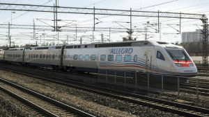 Allegro tåg