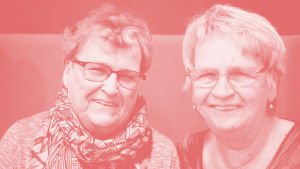 Britt-Marie Sahlberg och Lillemor Lerbacka
