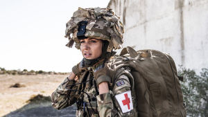 Our Girl-sarjan toisen kauden päähenkilö, korpraali Georgie Lane (Michelle Keegan).