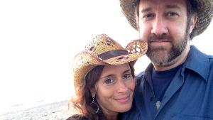 Kristen Bettencourt och Tim Marten.