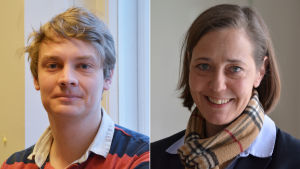 Otto Andersson och Mia Heijnsbroek-Wirén