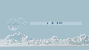 Cumulus-pilvet