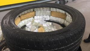 Rivotril-tabletter i ett däck.