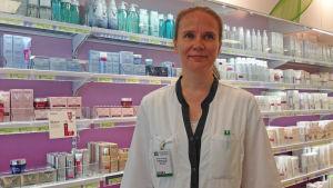 Kundbetjäningschef Marja Vuorenmaa.