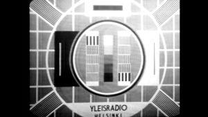 Tv:n testikuva eli virityskuva vuonna 1959.
