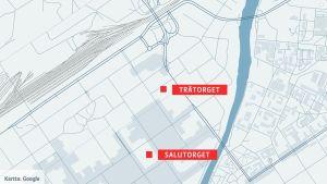Attacker i Åbo centrum 18.08.2017.