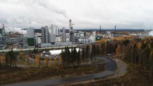 Bioproduktfabriken i Äänekoski.