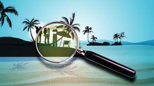Paratiisin paperit - tietovuotoon liittyvä logo.