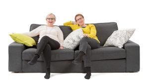 Sohvaperunat-sarjan viides tuotantokausi: Iris ja Monna, Helsinki.