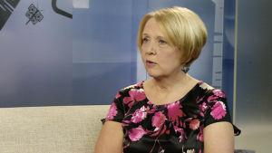 Riitta Silver är jurist på våldtäktskriscentralen Tukinainen.