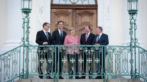 Sipilä träffade Merkel.