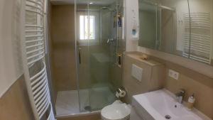 Duschrummet med snäckskalet