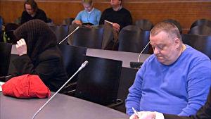 Risto Helin och en kvinna från orten står åtalade för grovt koppleri.