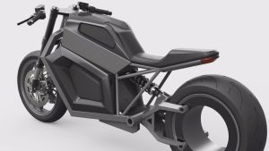 Motorcykeln E2.