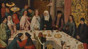 Hieronymus Boschs målning av Bröllopet i Kana.