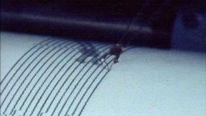 Seismografi piirtää kuvaa maankuoren liikkeistä