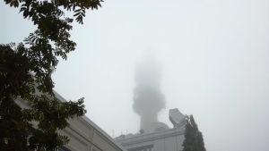Tät dimma i Böle i Helsingfors den 25.9.