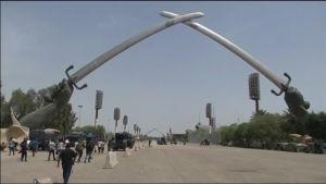 Uutisvideot: Mielenosoitukset Bagdadin turvavyöhykkeellä jatkuivat