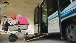 Ylen aamu-tv: Robottibussit liikenteeseen