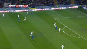 Urheilujuttuja: Ukraina siirtyi Suomea vastaan 1-0-johtoon