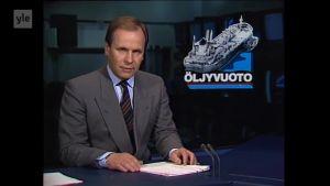 Uutisvideot: Tankkeri Antonio Gramscin karilleajo paljasti vuonna 1987 Suomen öljyntorjunnan heikkoudet