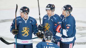Jääkiekkomaaottelu: FIN - DEN