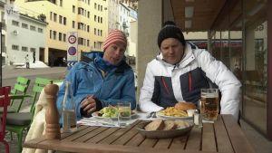 Alppihiihdon MM: Palanderin after ski: näin alppihiihtäjät syövät
