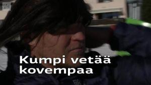 Alppihiihdon MM: Kalle Palander selvitti myytin pitkistä hiuksista