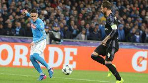 Jalkapallon Mestarien liiga: Maalikooste: Real Madrid löi Napolin
