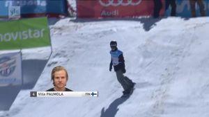 Lumilautailun ja freestylen MM: Ville Paumola oli viides, Seppe Smits nappasi slopestylen MM-kultaa