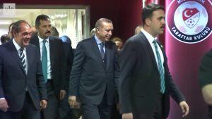 Uutisvideot: Presidentti Erdoğan todisti Suomen jalkapallotappion