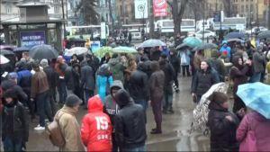 Uutisvideot: Venäjän poliisi pidätti mielenosoittajia Pietarissa