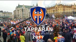 Uutisvideot: Tuhannet hurrasivat Tapparan mestaruusjoukkueelle