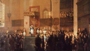 Hallitus kokoontuu historialliseen istuntoon Porvoossa