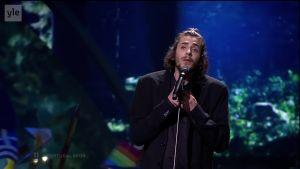 Eurovision Song Contest 2017: Euroviisujen 2017 voittaja: Salvador Sobral: Amor Pelos Dois