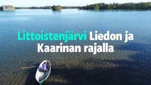 Yle Uutiset Lounais-Suomi: Pysyykö kemikaaleilla käsitelty Littoistenjärvi ihmeellisen kirkkaana jatkossakin? - Tältä näyttää 15 vuotta sitten käsitelty Kirkkojärvi