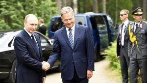 Presidentti Putin vierailee Savonlinnassa