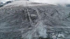 Uutisvideot: Helle sulattaa alppijäätikköä Italiassa