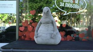 Uutisvideot: Zhdun-hahmo leviää verkossa Venäjällä