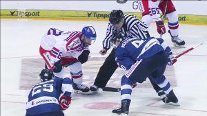 Jääkiekon Euro Hockey Tour: CZE - FIN